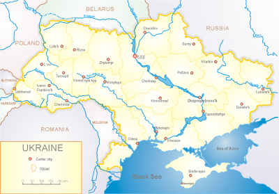 Map Of Ukraine